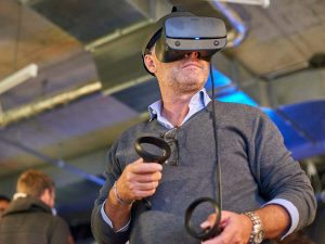 Man using VR Set