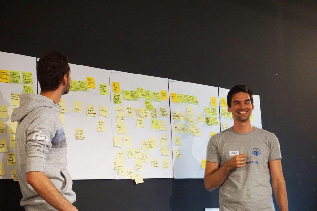 Max Aigner CTO BraveYourself Design Thinking Workshop